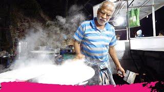 Indian STREET FOOD in Munnar - Homemade Chocolate, Appam & Tapioca | Munnar, Kerala, India