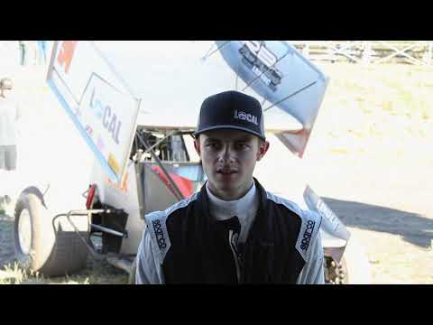 Southern Oregon Speedway Sprint Car ,Blaine Cory Interview. Race Highlights, and pit area video.