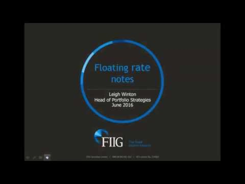 Introduction to Floating Rate Notes