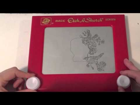 Etch A Sketch in Action