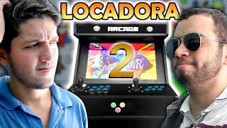 LOCADORA DE JOGOS ANTIGOS 2 - FLIPERAMA!!