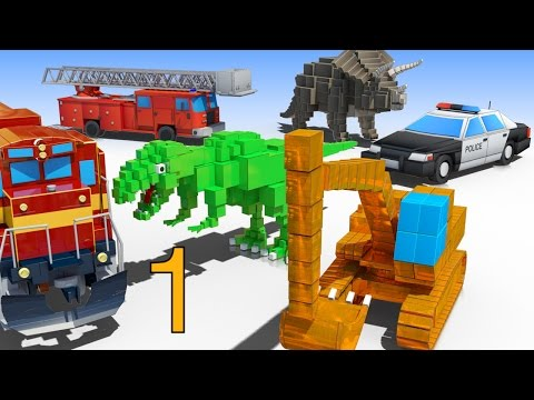 1 HOUR of AApV Cube Builder Cartoons Compilation