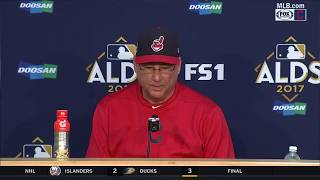 Terry Francona postgame press conference after Yankees eliminate Indians | ALDS GAME 5