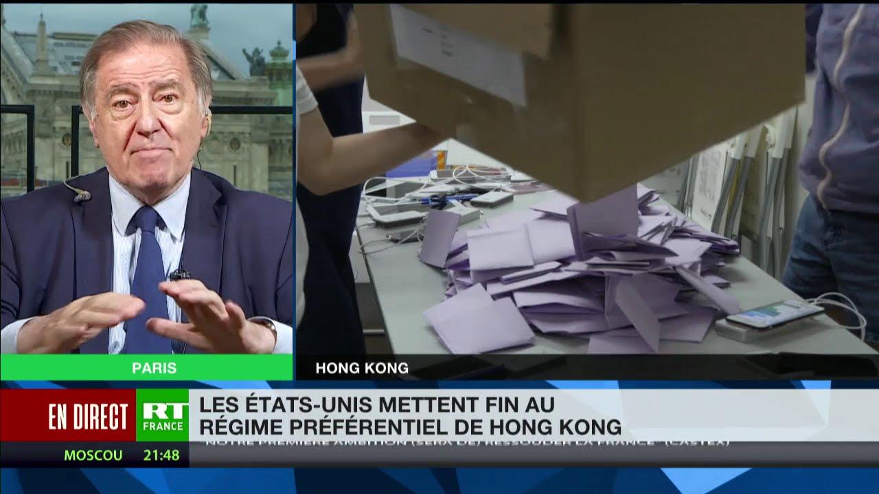 Fin du régime préférentiel de Hong Kong par les ?? :«Shanghai va profiter de ce déclin de Hong Kong»