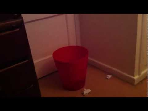paper toss (real life)