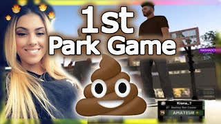 MY FIRST PARK GAME WITH NO BADGES!😳