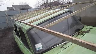 видео ВАЗ 2104 багажник на крышу своими руками