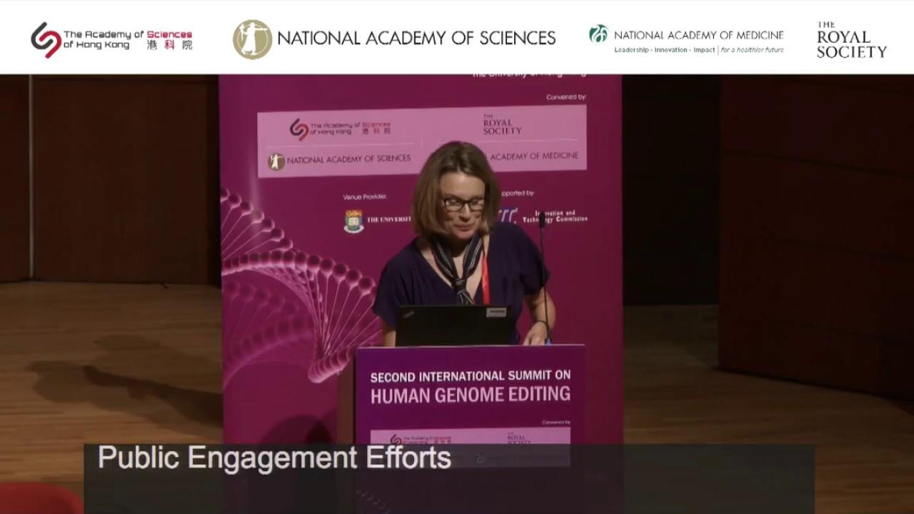 second international summit on human genome editing