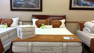 Arizona Beds offers Organicpedic by OMI.  This certified organic mattress is the Lago Nouveau