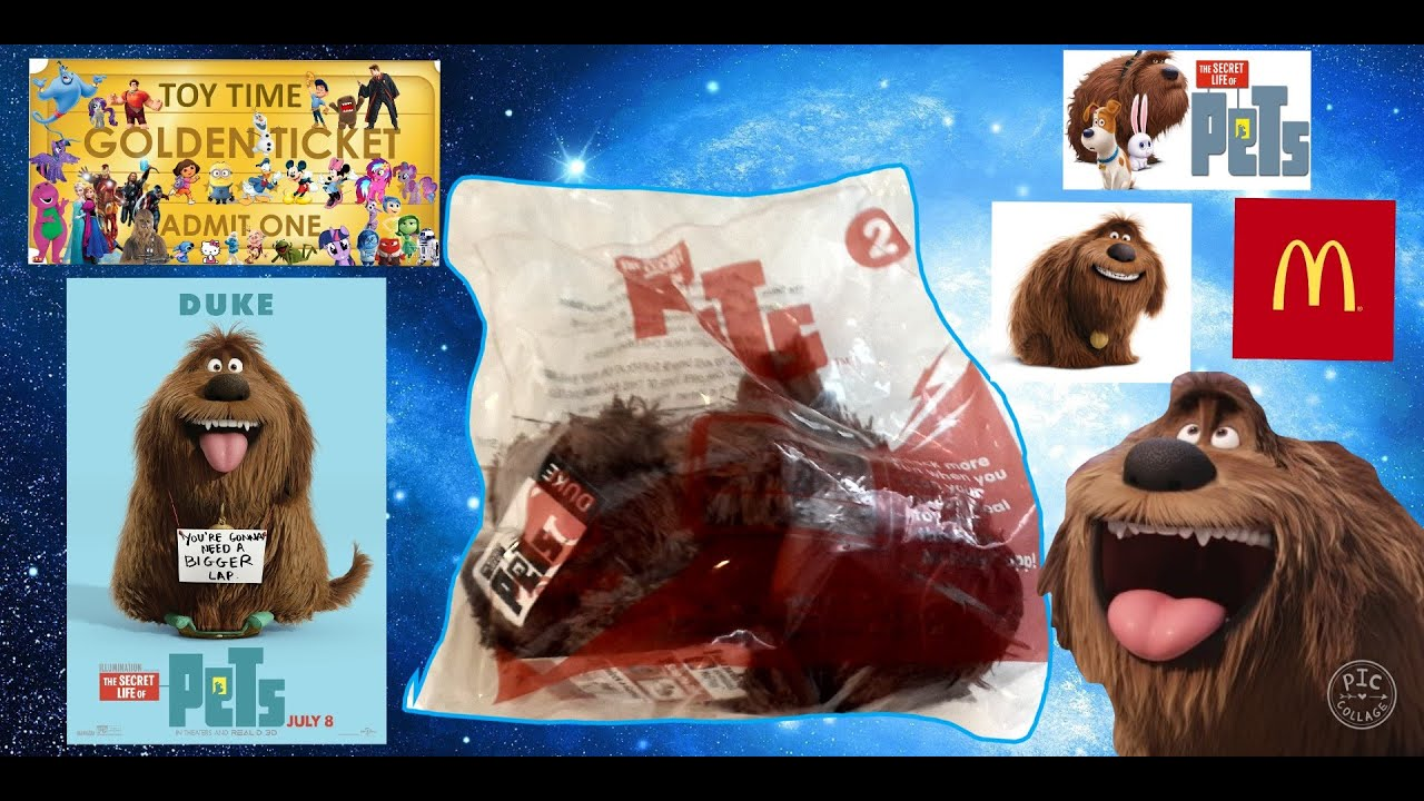 The Secret Life Of Pets Dog Toy