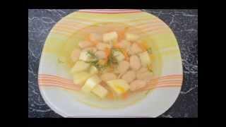 лекгий фасолевый суп/how to cook bean soup