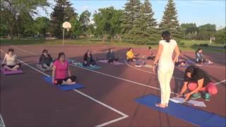 Sunrise yoga - Live Practice with Vidya Nahar -  June 9 2017