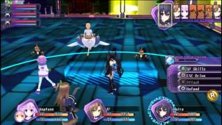 Hyperdimension Neptunia Re;Birth 1 Vita Gameplay