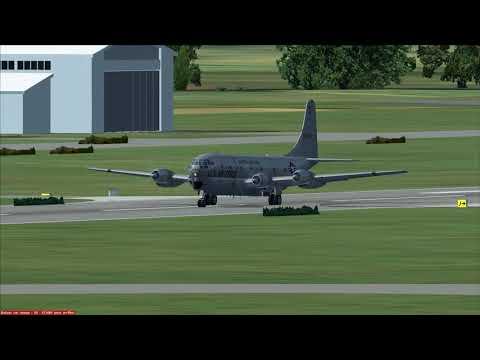 De Mactan à Baracay en Boeing C 97 Stratofreighter