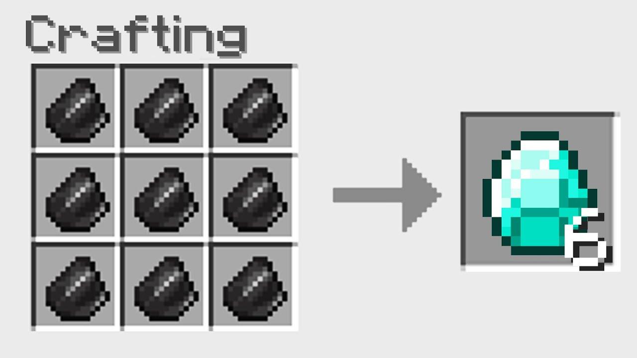 7 NEW Ways To Craft With Diamonds In Minecraft YouTube