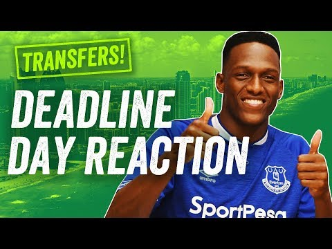 TRANSFER DEADLINE DAY REACTION! Yerry Mina to Everton, Courtois to Madrid + BEST EPL summer signings