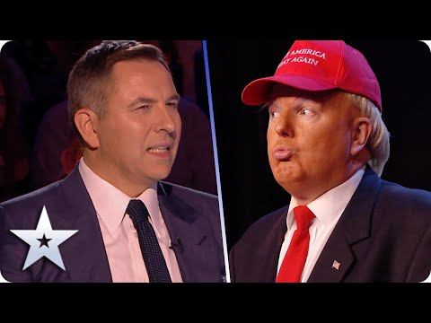 Donald Trump in SPARKLY HEELS? Only on the BGT stage… | BGT 2020