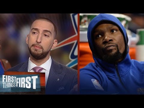 Nick Wright explains why America relates better to Westbrook than Durant | FIRST THINGS FIRST