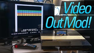 Atari 5200 Video and Power Mod -- Ditch the Switchbox!