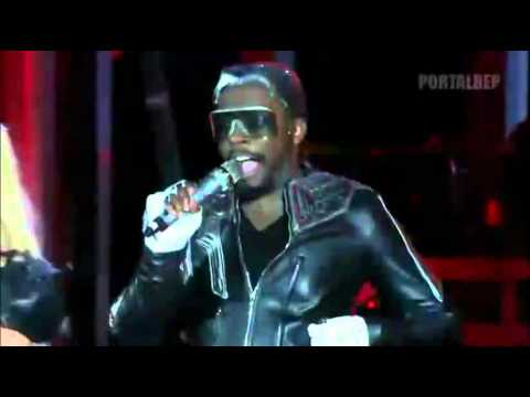 The Black Eyed Peas - Boom Boom Pow [Live] - Central Park (Concert 4 NYC)