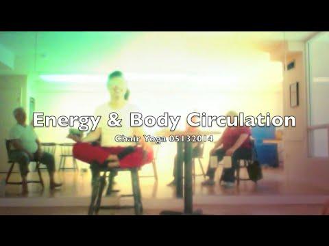 Energy & Body Circulation: Chair Yoga  05132014
