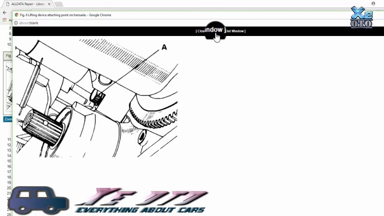 [Xe oto] Thắc mắc người thợ máy lấy những tài liệu về cách sửa các hệ thống xe từ đâu!?