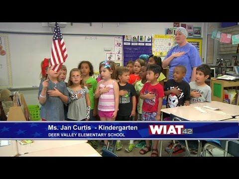 Ms. Jan Curtis Kindergarten class: Deer Valley Elementary School