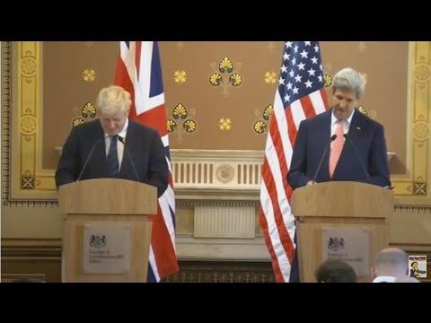 Boris Johnson humiliated by the US press corps
