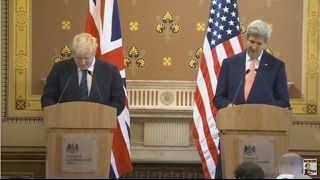 Boris Johnson humiliated by the US press corps