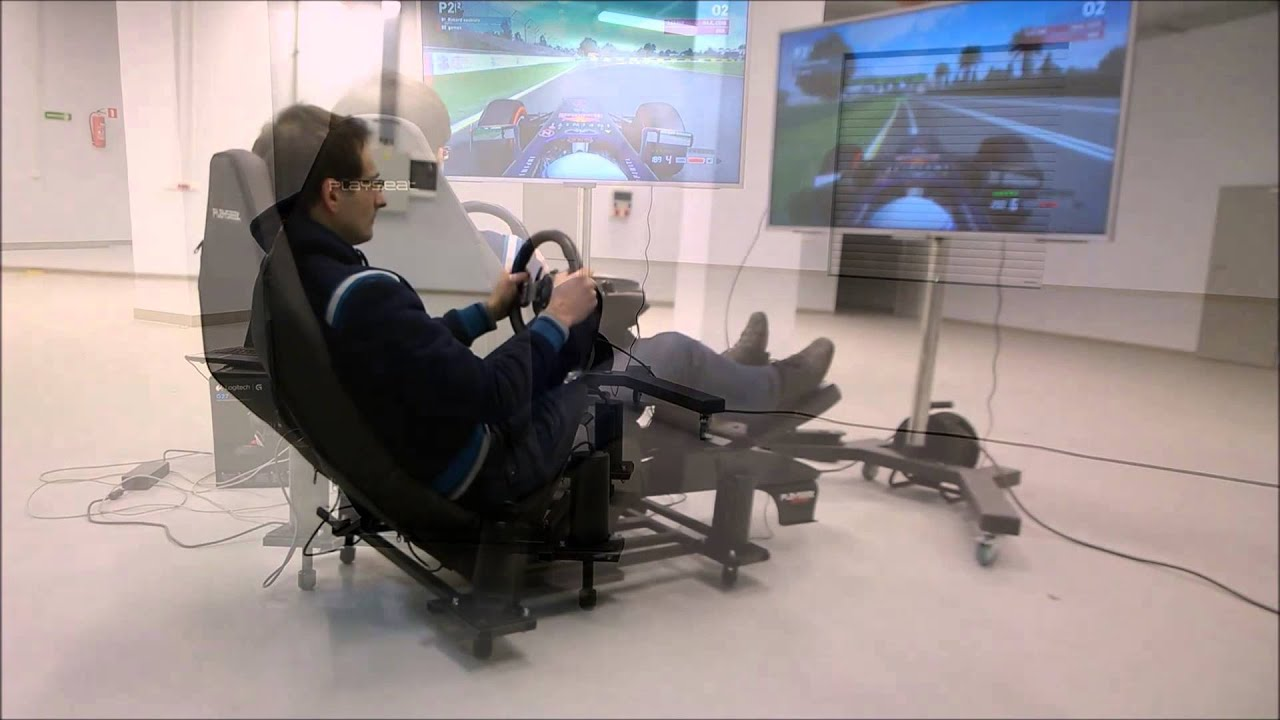 Playseat F1 Motion System Youtube
