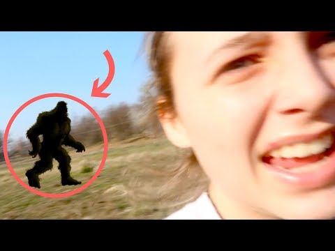 finding bigfoot *live footage included*