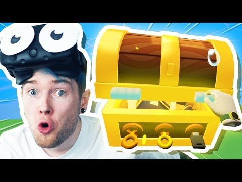 I Found BURIED TREASURE! | Vacation Simulator VR #2