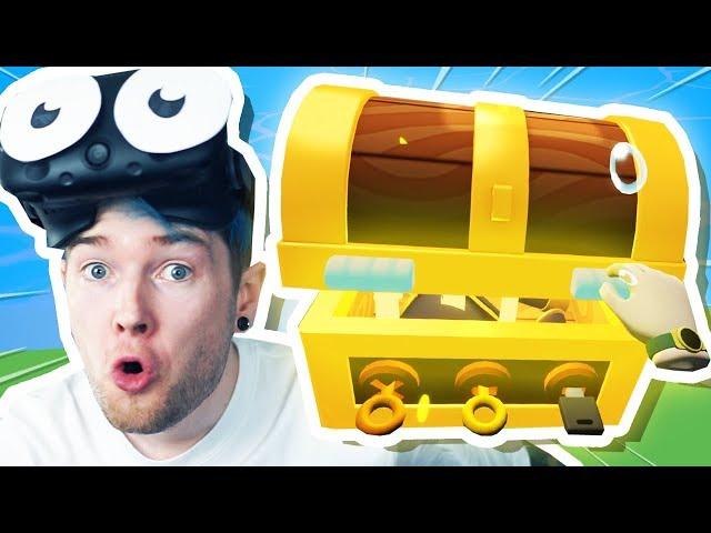 I Found BURIED TREASURE! | Vacation Simulator VR #2