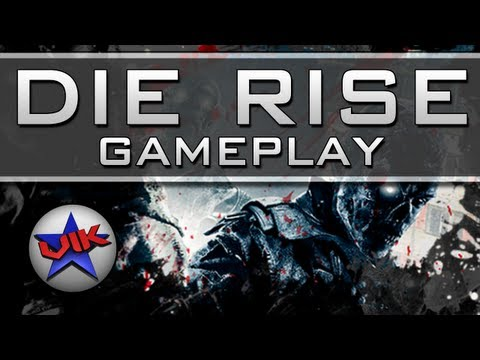 Black Ops 2 DIE RISE Gameplay - New Zombies Map - Revolution DLC
