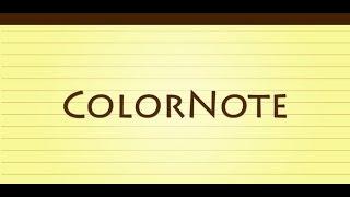 Стикеры в телефон - ColorNote