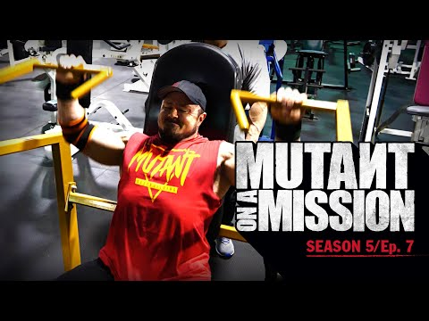 MUTANT ON A MISSION AT VB IRON GYM - Virginia Beach