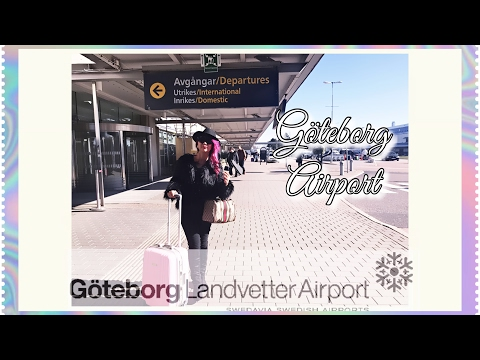 Göteborg Landvetter Airport Departure/Arrival (Gothenburg Airport & Central Gothenburg) SWEDEN 🇸🇪