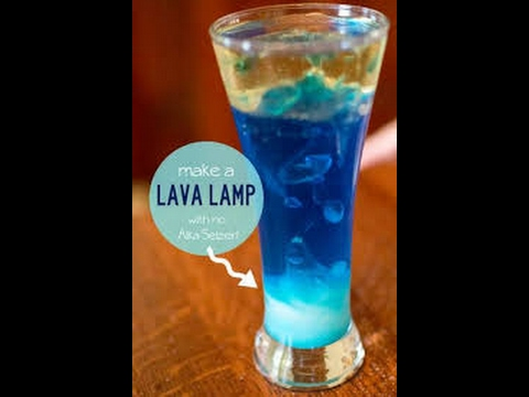 How To Make A Home Made Lava Lamp (With No Alka Seltzer)