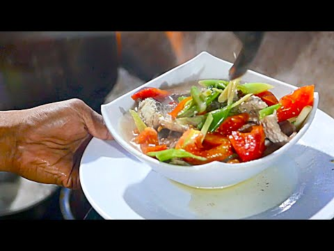 Indonesian Street Food - Fresh Fish Stew
