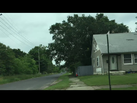 (Childhood Home Street of EMINEM) 19946 Dresden St. Detroit, MI