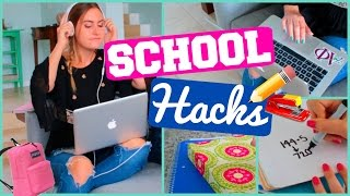 Back to School Life Hacks!