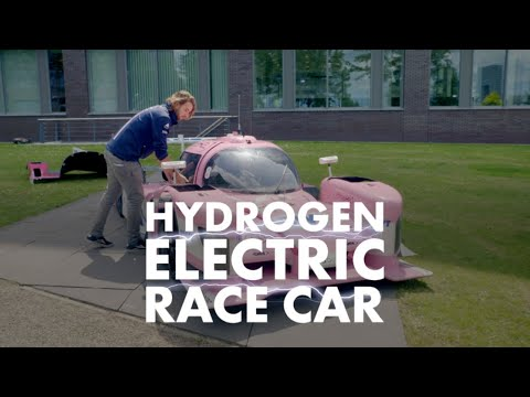 Find out about the race car driving the future of hydrogen.