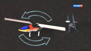 как вертолет перемещается в воздухе или насколько важен автомат перекоса
