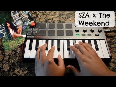 SZA x The Weekend ( Instrumental)