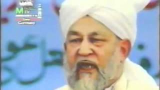Beautiful and Iman Arooz Speach by Hazrat Mirza Tahir Ahmad Rehmatullah Aliah.flv