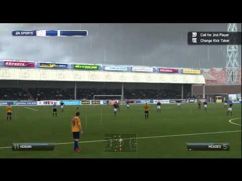 FIFA 14 – League 2 Career Mode – The luckiest goal ever Part 11