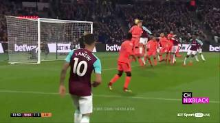 Westham vs Liverpool 1-4 2017 EPL