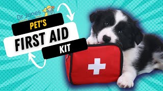 First Aid Kit for Pets: What to include?