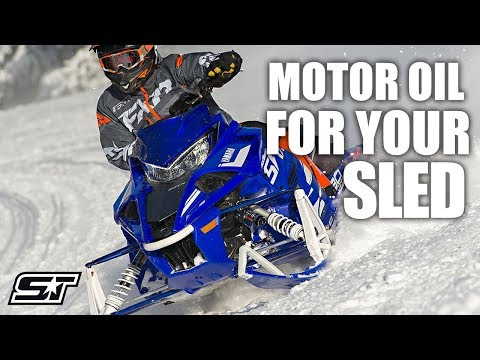 2-Stroke & 4-Stroke Motor Oil For Your Snowmobile