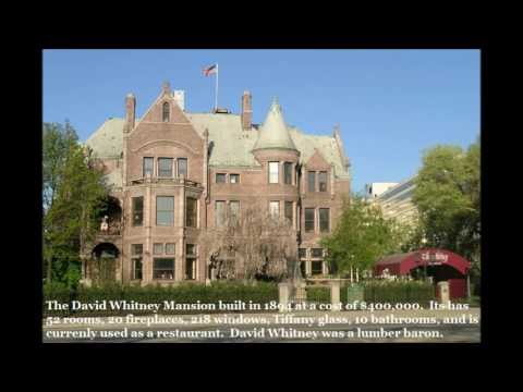 Mansions and Homes of Detroit's Richest Residents